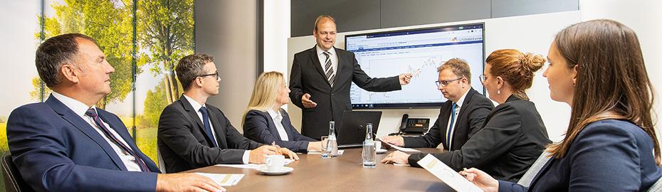 Portfolio-Management im Team des Private Banking