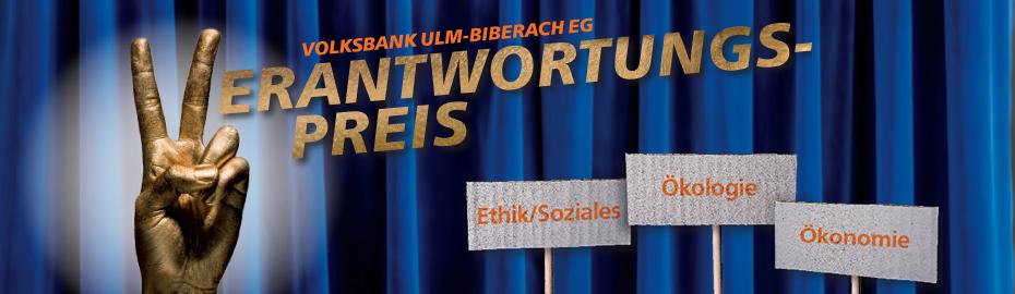 Verantwortungspreis der Volksbank Ulm-Biberach eG