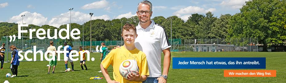Team Bananenflanke: Mit Fußball Freude schaffen.
