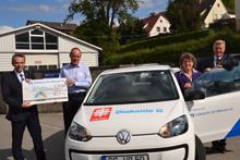 VW up geht an Caritas Biberach / Bad Saulgau