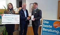 Liederkranz Dietenheim - Volksbank unterstützt