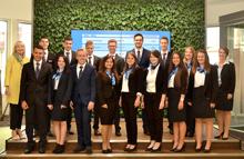 Die neuen Auszubildenden der Volksbank Ulm-Biberach eG