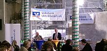 Richtfest in der Niederlassung Volksbank Ravensburg