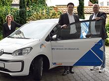 Volksbank übergibt VRmobil an die JEH Seitz gGmbH