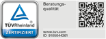 R+V: Zertifiziert vom TÜV Rheinland für Beratungsqualität