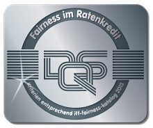 2013 gab es das Fairness-Zertifikat für easyCredit, unseren Ratenkredit-Spezialisten.