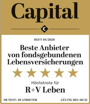 R+V: Eisenhut Award 2019 für Beratungsqualität
