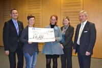 Spendenübergabe 2012